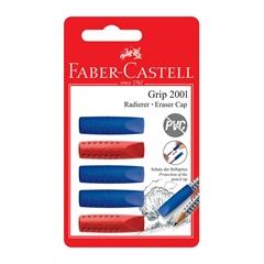 Radirka Faber-Castell Grip pokrovček, 5 kosov