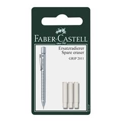 Rezervna radirka Faber-Castell Grip 2011, 3 kosi