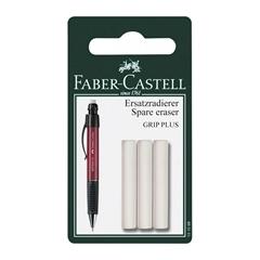 Rezervna radirka Faber-Castell Grip Plus, 3 kosi