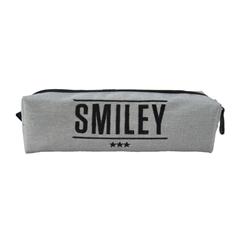 Okrogla peresnica Smiley Tube, siva