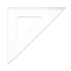 Trikotnik 45°, 21 cm