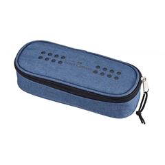 Ovalna peresnica Faber-Castell Grip, modra