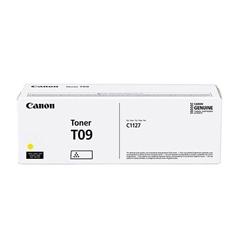 Toner Canon T09 (3017C006AA) (rumena), original