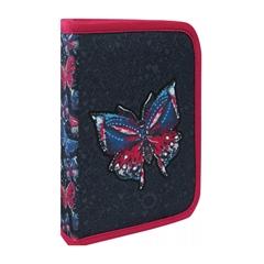 Enojna peresnica Butterfly, en preklop, polna