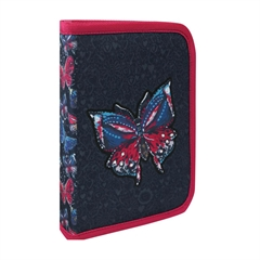 Enojna peresnica Butterfly, en preklop, prazna