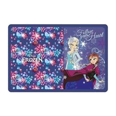 Enojna peresnica Frozen Follow your Heart, dva preklopa, prazna