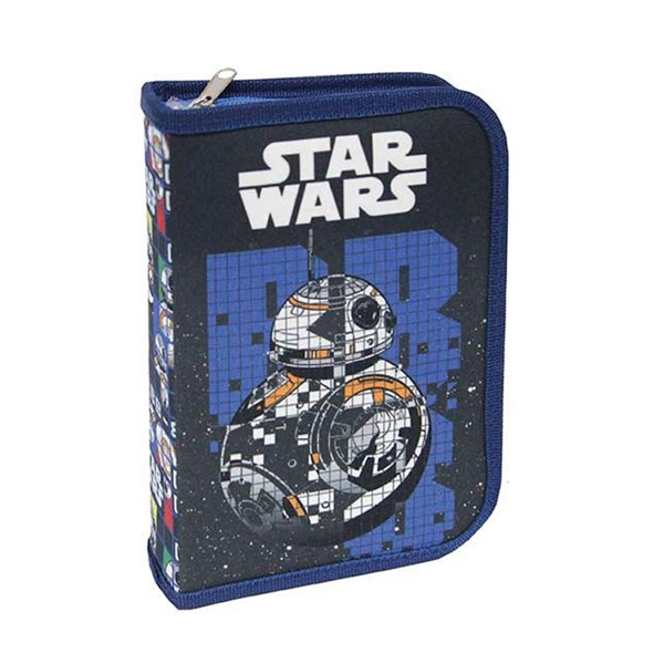 Enojna peresnica Star Wars, dva preklopa, prazna