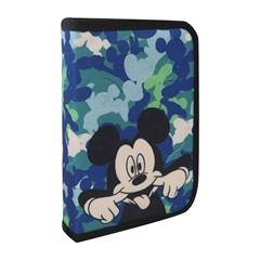 Enojna peresnica Disney Mickey, dva preklopa, polna