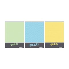 Beležnica Street Colors, A6, 40 listov, črte, sortirano, 1 kos