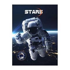 Beležnica Street Stars, A6, 40 listov, črte