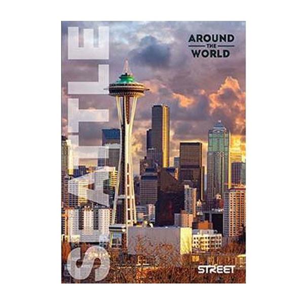 Beležnica Around World, A6, 40 listov, črte