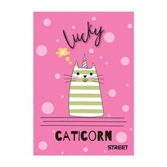 Beležnica Street My Cat, A6, 40 listov, črte