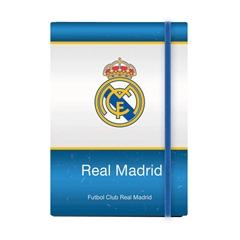 Beležnica Real Madrid, A5, 96 listov, črte