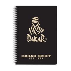 Beležnica Dakar s špiralo, A6, 80 listov, črte