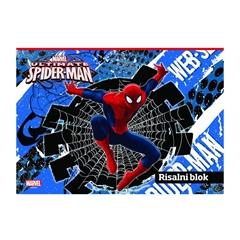 Risalni blok Spider-Man A3, 20 listov, 140 g