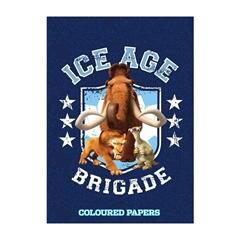 Kolaž papir Ice Age A4, 20 listov