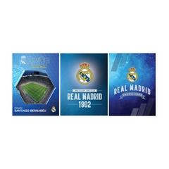 Mapa Real Madrid A5 Füzetbox, 4 cm, sortirano, 1 kos