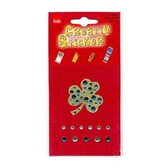 Nalepke Creativ Sticker, diamanti in deteljica