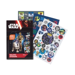 Knjiga etiket Star Wars, 200 kosov + pobarvanka