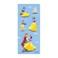 Nalepke Disney Snow White, 3D