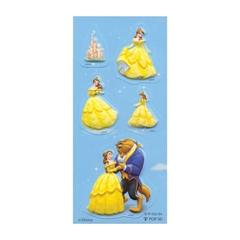 Nalepke Disney Beauty and the Beast, 3D