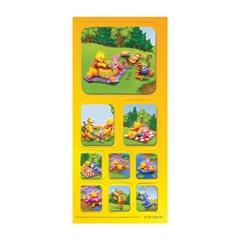 Nalepke Disney Winnie the Pooh S1, 3D