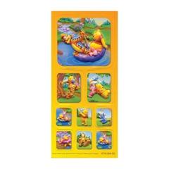 Nalepke Disney Winnie the Pooh S2, 3D