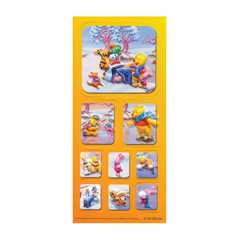 Nalepke Disney Winnie the Pooh S4, 3D
