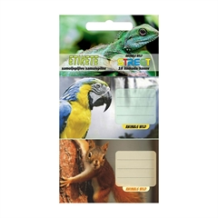Nalepke za zvezke Animal Wild, 10 kosov