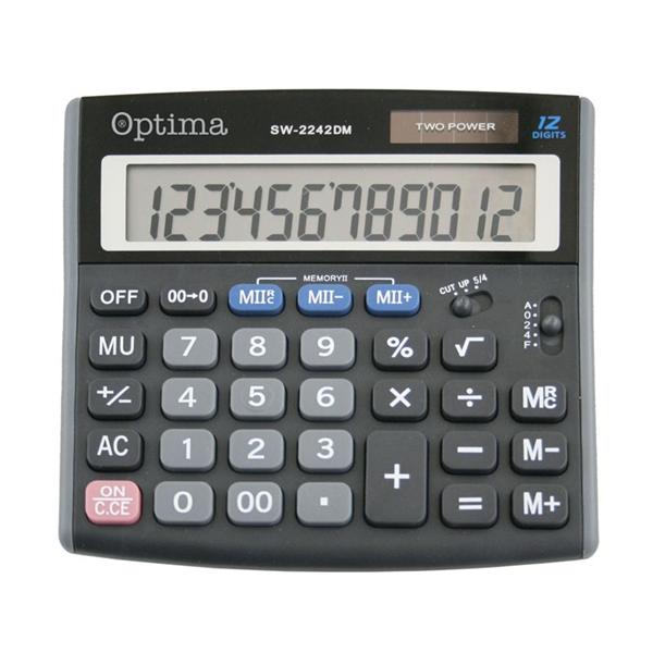 Namizni kalkulator Optima SW-2242DMA