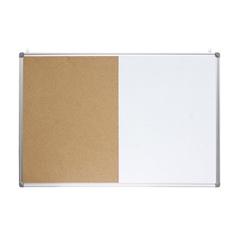 Tabla piši-briši + pluta Optima, 60 x 45 cm