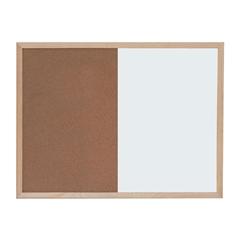 Tabla piši-briši + pluta Optima, 120 x 90 cm
