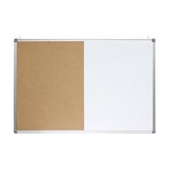 Tabla piši-briši + pluta Optima, 120 x 90 cm, aluminij