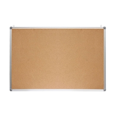 Tabla iz plute Optima, 60 x 45 cm, aluminij