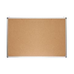 Tabla iz plute Optima, 90 x 60 cm, aluminij