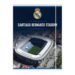 Mapa z elastiko A4 Real Madrid, 10 mm