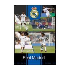 Mapa z elastiko A4 Real Madrid