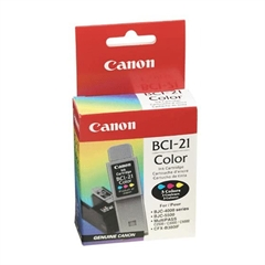 Kartuša Canon BCI-21 (barvna), original