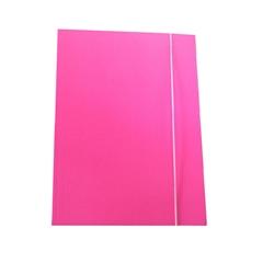 Mapa z elastiko A4 Optima, 30 mm, roza