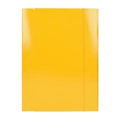 Mapa z elastiko A4 Optima, 30 mm, rumena