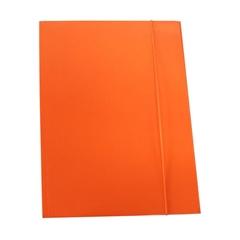 Mapa z elastiko A4 Optima, 30 mm, oranžna