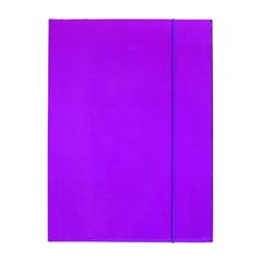 Mapa z elastiko A4 Optima, 30 mm, vijolična
