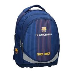 Ergonomski šolski nahrbtnik FC Barcelona, moder