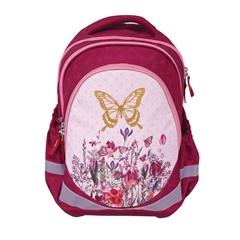 Ergonomski šolski nahrbtnik Gold Butterfly