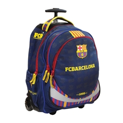 Šolski nahrbtnik na kolesih Trolley FC Barcelona