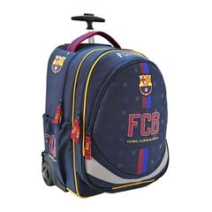 Šolski nahrbtnik na kolesih Trolley FC Barcelona 1