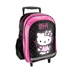 Šolski nahrbtnik na kolesih Trolley Hello Kitty 1
