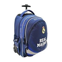 Šolski nahrbtnik na kolesih Trolley Real Madrid Por Siempre