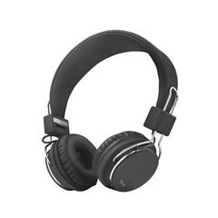 Poškodovana embalaža: slušalke Trust Ziva, z vgrajenim mikrofonom, črne