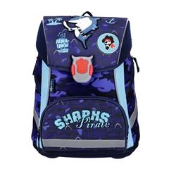 Ergonomska šolska torba ABC123 Shark